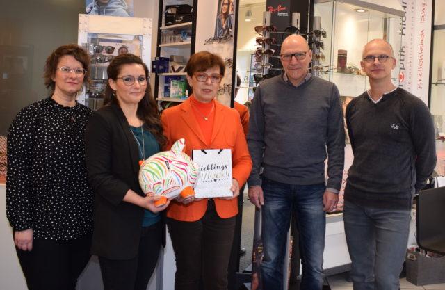 Augenoptik-Fachgeschäft Klöhn unterstützt Sportprojekte